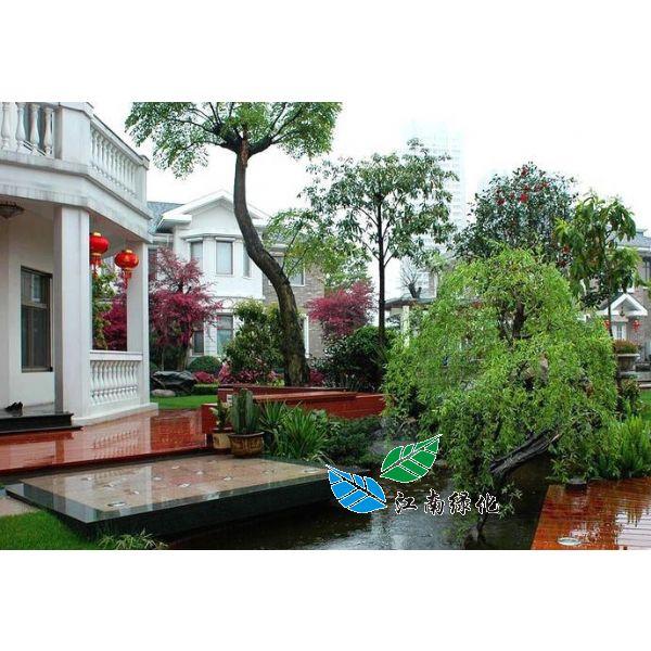 私家别墅庭院绿化景观设计施工