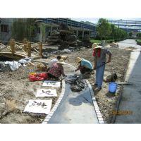 园林景观、绿化种植工程设计、施工现场照片